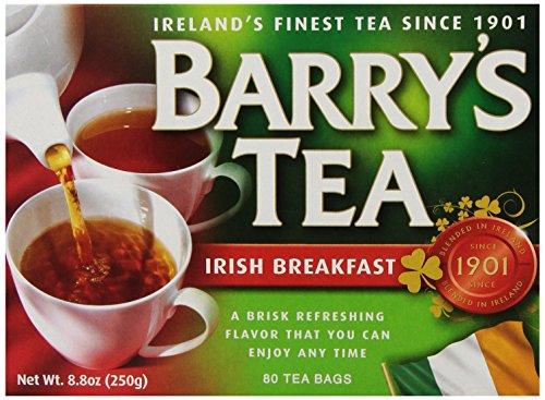 Barry's Tea, Irish Breakfast, 80 Tea Bags (Pack of (Irish Breakfast Green Tea)