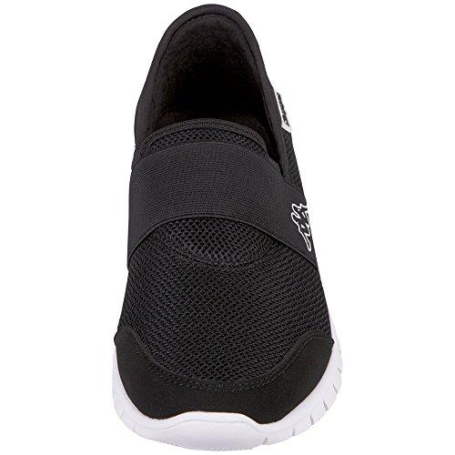 Bleu Adultes Taro Formateurs 1110 Blanc 6 Blanc Noir Kappa Noir Unisexe Noir 1110 qAIqE