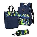 Best  - Vbiger 3-In-1 School Backpack Bookbags Tutorial Tote Bag Review