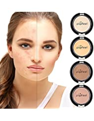 MS.DEAR 4 Colors Camouflage Concealer for Dry Skin and...