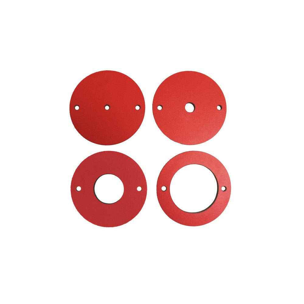 SawStop RT-PIR 4 Pc Phenolic Insert Ring Set for Router Plates