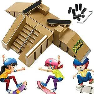 szyzl88 Finger Skate Park Suite,Kit De CombinacióN De ...