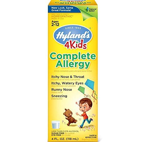 Complete Allergy Medication (Hyland's Complete Allergy 4 Kids 4 oz ( Pack of 3))