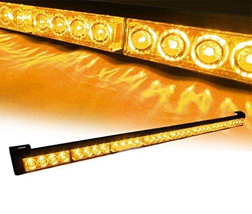 (Padhome LED Emergency Warning Traffic Advisor Vehicle LED Strobe Light Bar (35.5
