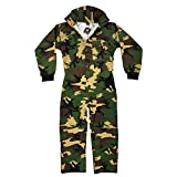 Maddog Tactical Paintball Rip Stop Coverall Jumpsuit - Woodland Camo