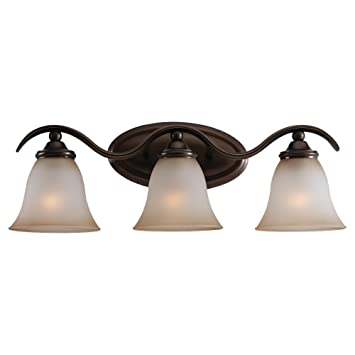 bronze bathroom light fixtures at lowes oil rubbed home depot sea gull lighting three vanity russet finish