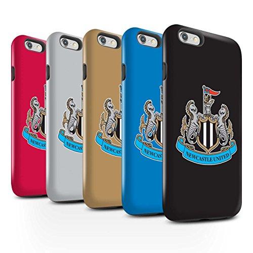 Offiziell Newcastle United FC Hülle / Glanz Harten Stoßfest Case für Apple iPhone 6+/Plus 5.5 / Pack 12pcs Muster / NUFC Fußball Crest Kollektion