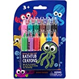 #2: Bath Crayons Super Set - Set of 12 Draw in the Tub Colors with Bathtub Mesh Bag
