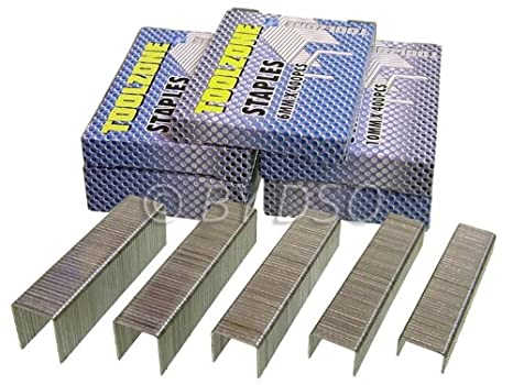 2000 Piece Assorted Staple Set 6-14mm ST047 ToolZone