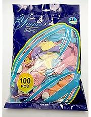 بالونات لاتكس 100 قطعة - يونيكورن متعدد الالوان - لجميع المناسبات