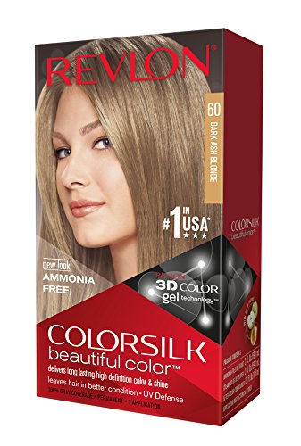 Revlon Colorsilk Haircolor, Dark Ash Blonde, 10 Ounces (Pack of 3)