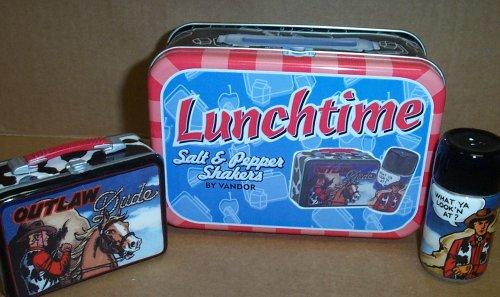 Vandor Lunchtime Salz- und Pfefferstreuer Outlaw Dude