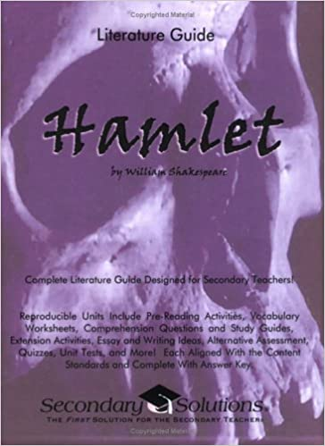 Hamlet Literature Guide (Common Core and NCTE/IRA Aligned Teaching ...