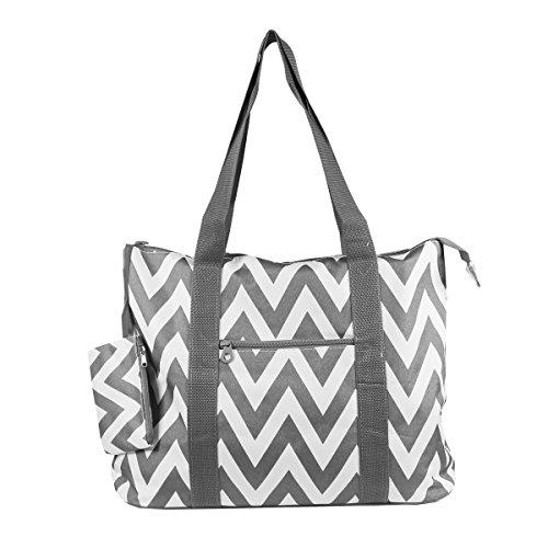 Zipper Tote Bag - 9