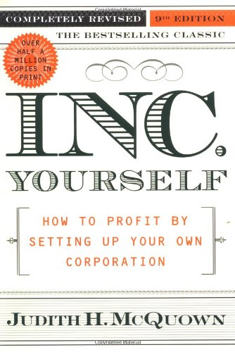 Download Inc. Yourself: How to Profit By Setting Up Your Own Corporation, Completely Revised 9th Edition PDF