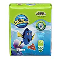 Huggies Little Swimmers Disposable Swim Pants, Size Small, 20 Count (Pack of 4)