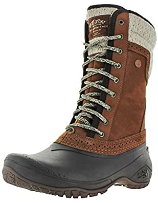 The North Face Shellista II Mid Boot Women's Dachshund Brown/Demitasse Brown 6