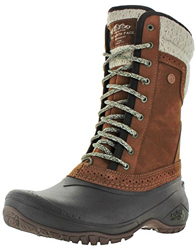 Dachshund Round The Shellista Weather Face Womens North Bo Toe Leather calf Cold Ii Mid Brown aaqYOw1