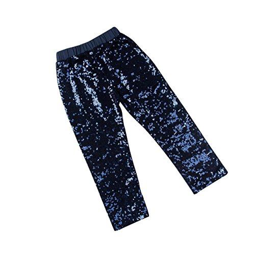 Baby Girls Sequin Pants Leggings – Messy Code Kids Pants Clothes for Toddlers