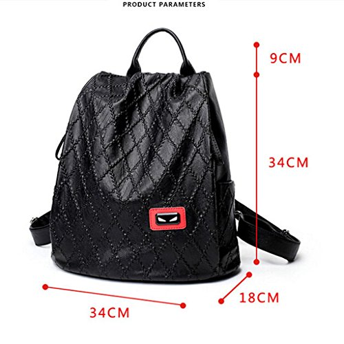 capacity backpack Ladies Soft Large diamond Student packaging diamond backpack Ms traveling bag ZY amp;F cover backpack xtUqwUYv