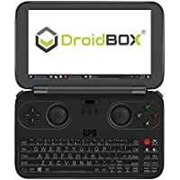 DroidBOX GPD WIN June 5 Update Aluminum Shell Version X7-Z8750 Windows 10 Powered Gaming Portable Console 5.5 OGS LCD Display, Up to 2.56GHz CPU, 4GB RAM, 64GB ROM