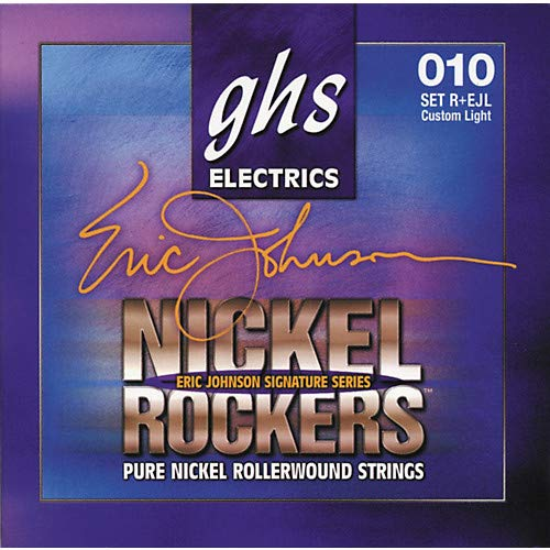 (Eric Johnson Signature Series Nickel Rockers Light Electric Guitar Strings- Pack of 3)