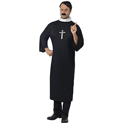 NET TOYS Traje de Sacerdote Disfraz Monje túnica Iglesia ...