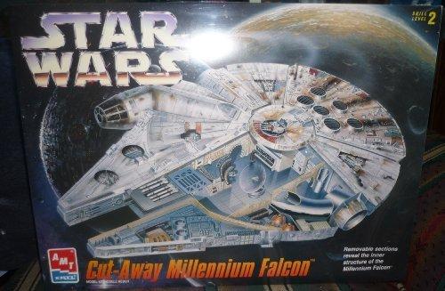 AMT Star Wars Cut-Away Millennium Falcon Model Kit by ERTL