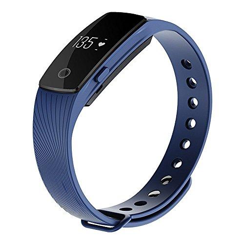 Witmood Smart Bracelet Heart Rate Monitor Smartband Pedom...