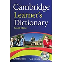 Cambridge Learner's Dictionary [With CDROM] 4th Edition  by IDM - Paperback