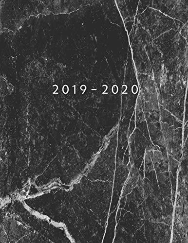 Agenda MAYO 2019 - ABRIL 2020: Vista Semanal con Horario | 1 Semana en 2 Páginas | 12 Meses Planificador y Calendario | 21.59x27.94 cm | 8.5