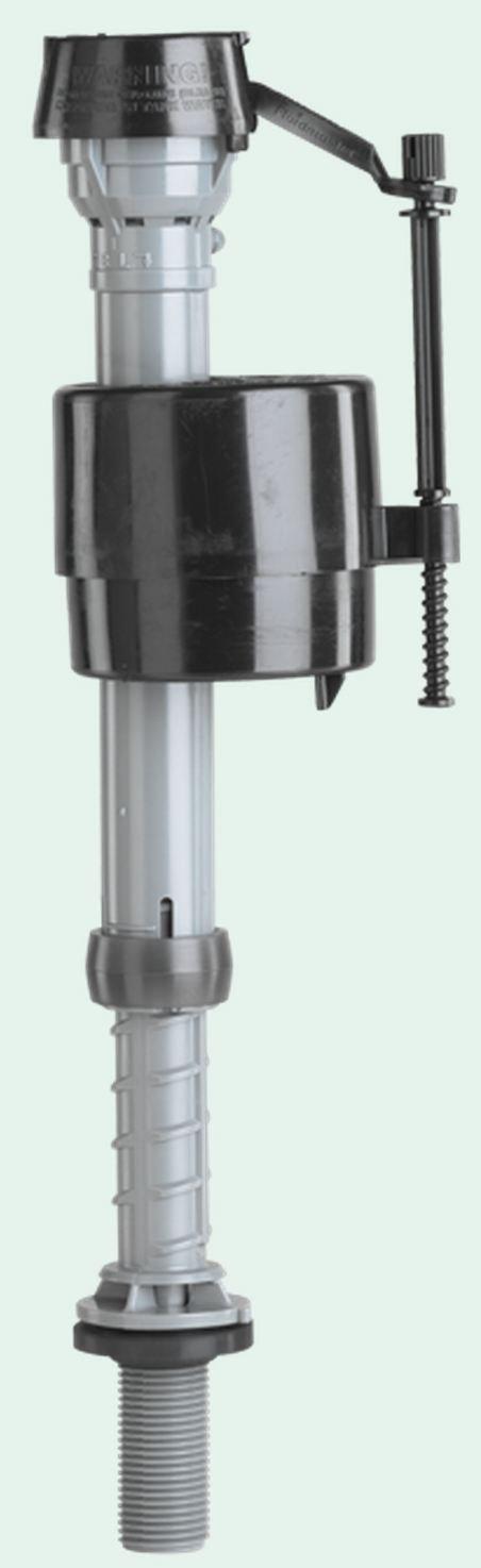 Reemplaza tu vieja válvula de flotador, mejora tu válvula de llenado para inodoro, entrada inferior silenciosa ajuste, hazlo tú mismo, marca Fluidmaster: ...