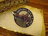 Popular Enamel Lapel pins - Harley Davidson '' Daytona Beach 1987 '' Bike Week Rally Rocker Lapel Pin - Fashion Pins and Brooches