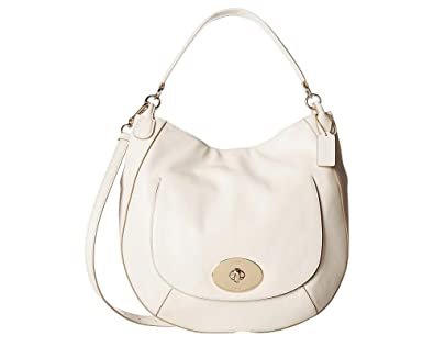 Amazon.com  Coach Circle Hobo in Smooth Leather Handbag 34656  Shoes 8bcaf97a1f869