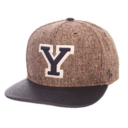 Cougars Legend - Zephyr NCAA Byu Cougars Adult Men Legend Heritage Collection Hat, Adjustable, Tweed