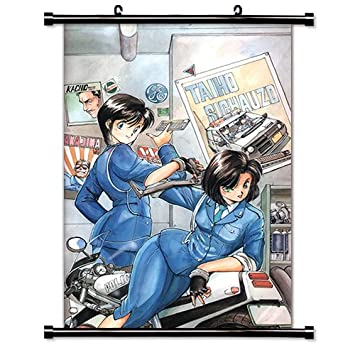 amazon com you re under arrest anime fabric wall scroll poster 32
