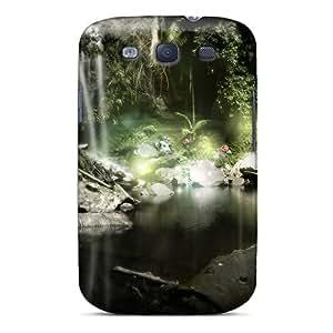 Galaxy S3 Case Bumper Tpu Skin Cover For Wood Lake Accessories