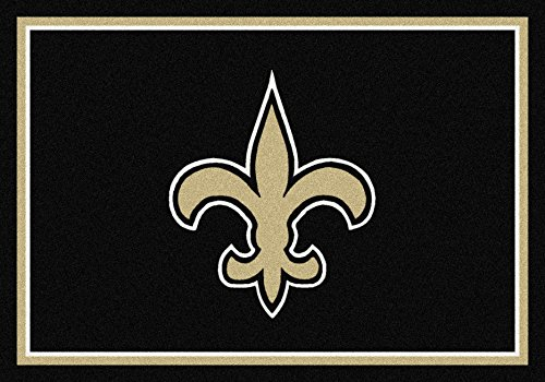New Orleans Saints NFL Team Spirit Area Rug by Milliken, 5'4
