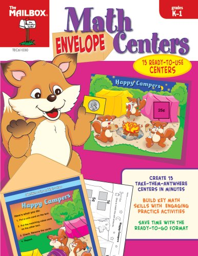 Envelope Centers Math (Grs. K-1) - Book Mailbox Math