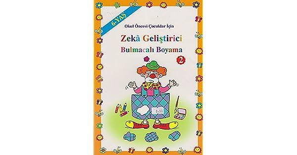 Okul Oncesi Cocuklar Icin Zeka Gelistirici Bulmacali Boyama 2