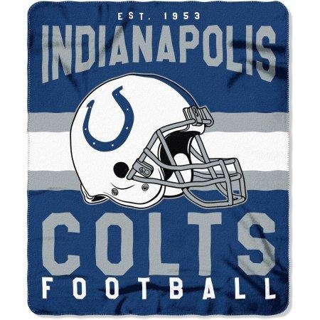 - The Northwest Company NFL Indianapolis Colts Printed Fleece Throw, One Size, Multicolor