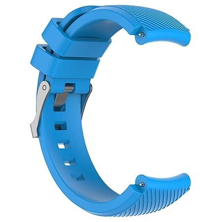 Modaworld _Correa de reloj Suave de Silicona Sports Band para HUAMI Amazfit Stratos Smart Watch 2 Correas de Reloj Inteligente Pulseras de Repuesto (Cielo ...