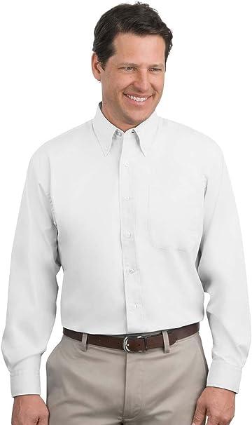 6 Custom LOGO S608 Port Authority MEN//WOMEN Long Sleeve Shirt Business Dress