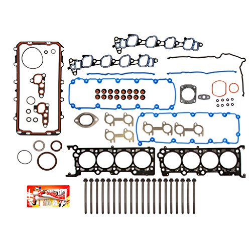 99-00 Ford Mustang GT 4.6 SOHC MLS Full Gasket Set Head Bolts VIN X -  Domestic Gaskets, FSHB8-21201