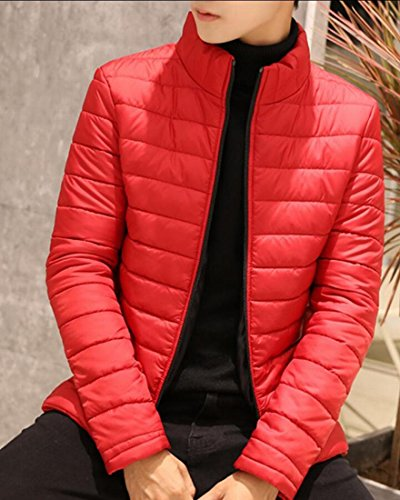 Ultra Down amp;S Winter Packable Men's Light Jackets Red M amp;W Warm Puffer gYxdnnzq
