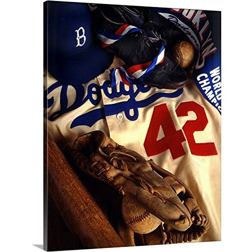 - Brooklyn Dodgers Canvas Wall Art Print, 11