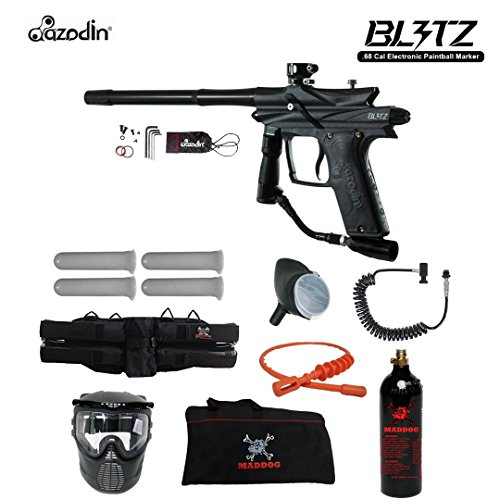Azodin Blitz 3 Specialist Paintball Gun Package - Black Autococker Trigger