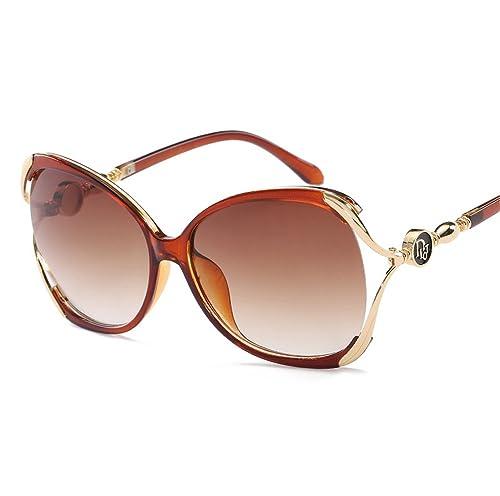 Mujer Niñas Retro Moda Al Aire Libre Gran Marco UV400 AC Lente Wayfarer Gafas De Sol Gafas