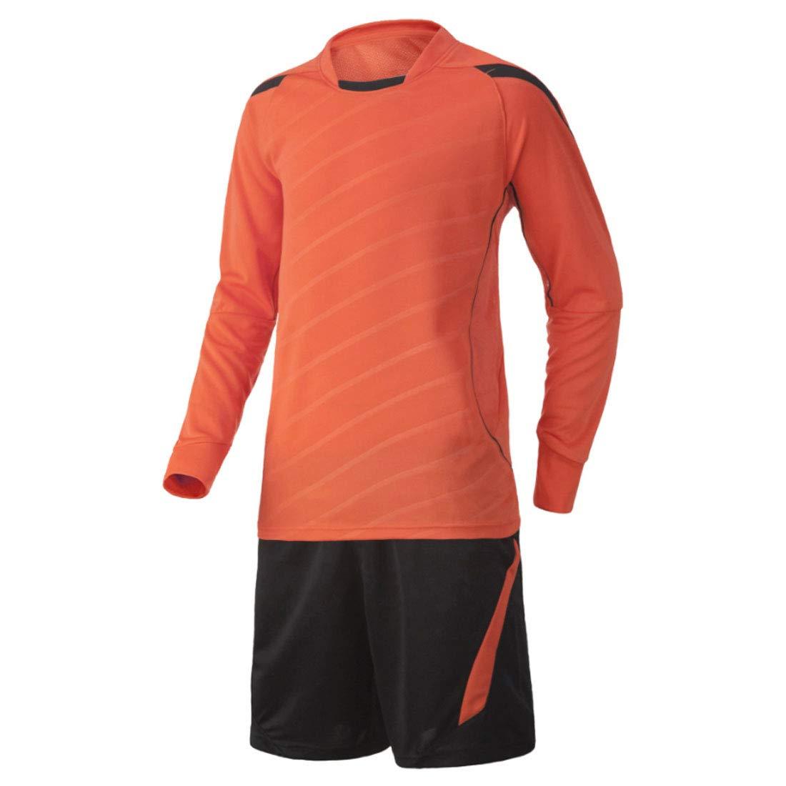 Yefree Kurzarm Sport Shirt M/änner Schnell Trocknend Jungen Laufen T-Shirts Gym Kleidung Mens Fu/ßball Jerse Set
