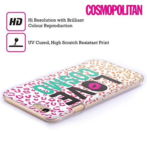 Official Cosmopolitan Leopard Love Cosmo Hard Back Case for Apple iPhone 5c
